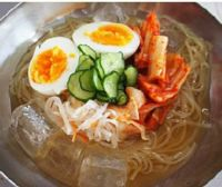 冷麺の調理例